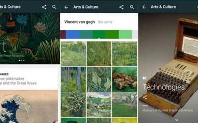 """Google'ın Yeni Kültür Uygulaması: """" Arts & Culture """""""